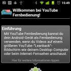 YouTube Remote in neuer Version