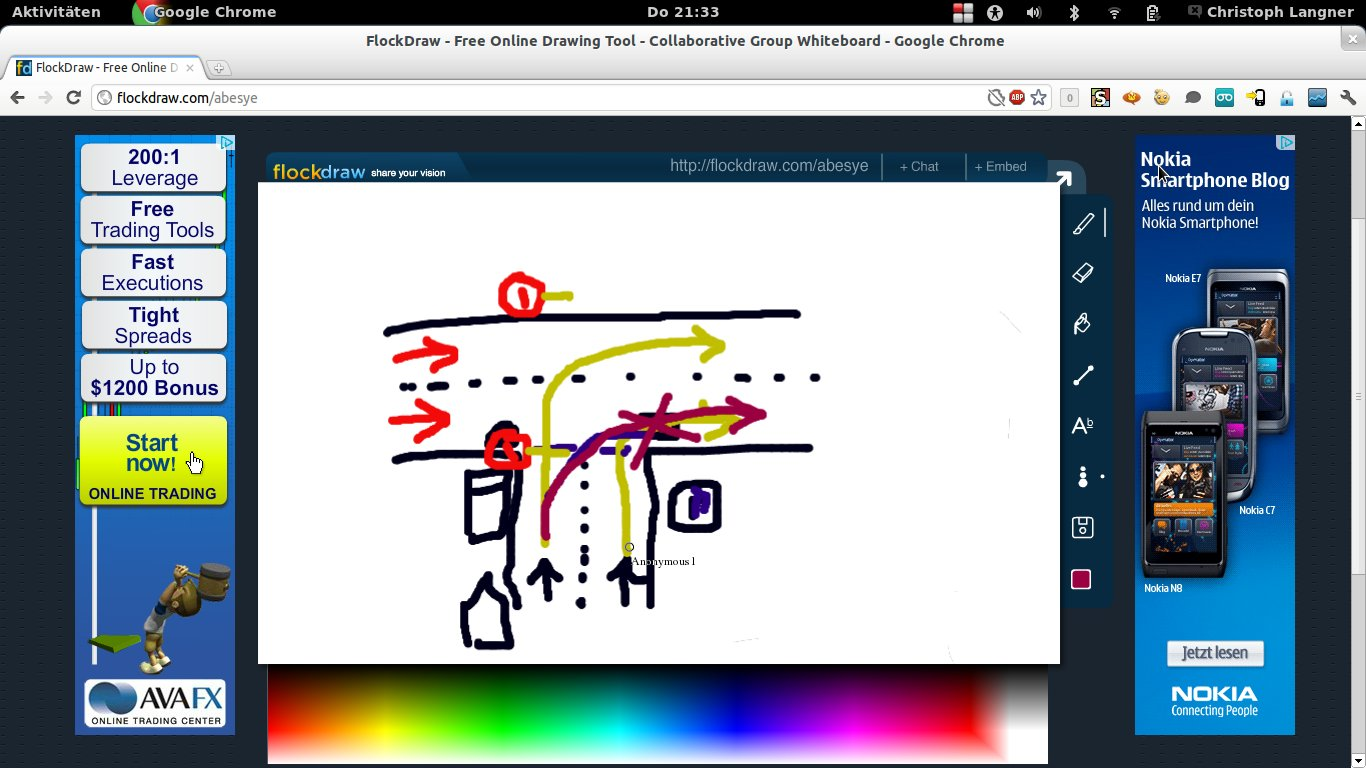 FlockDraw, webbasiertes kollaboratives Malprogramm › Linux und Ich