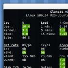 Alternative für top, htop und Co.: System-Monitoring im Terminal mit Glances