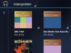 Plattencover für Musikalben in Google Music hochladen