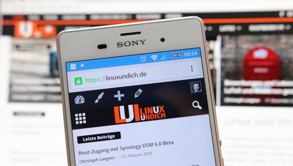Chrome auf Android und Linux