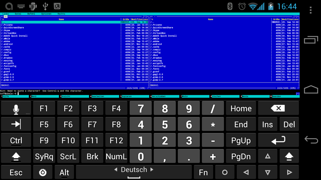 Keyboard for android tablet gratuito baixar