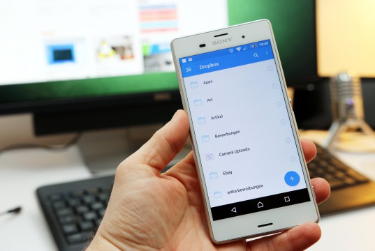 Dropbox auf Android