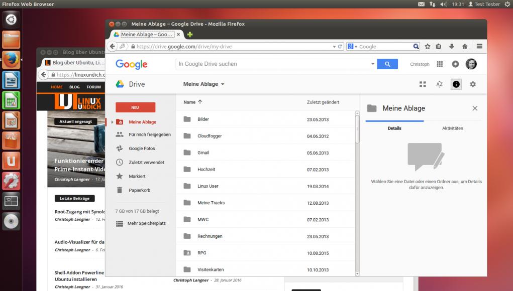 Google Drive und Linux