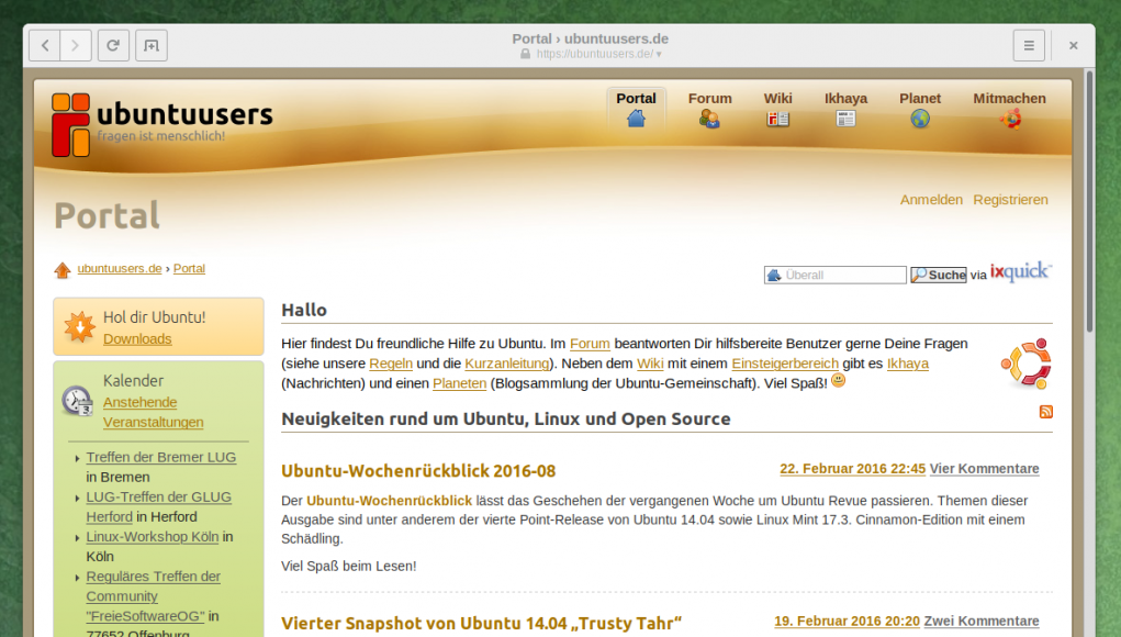 Ubuntuusers-Community