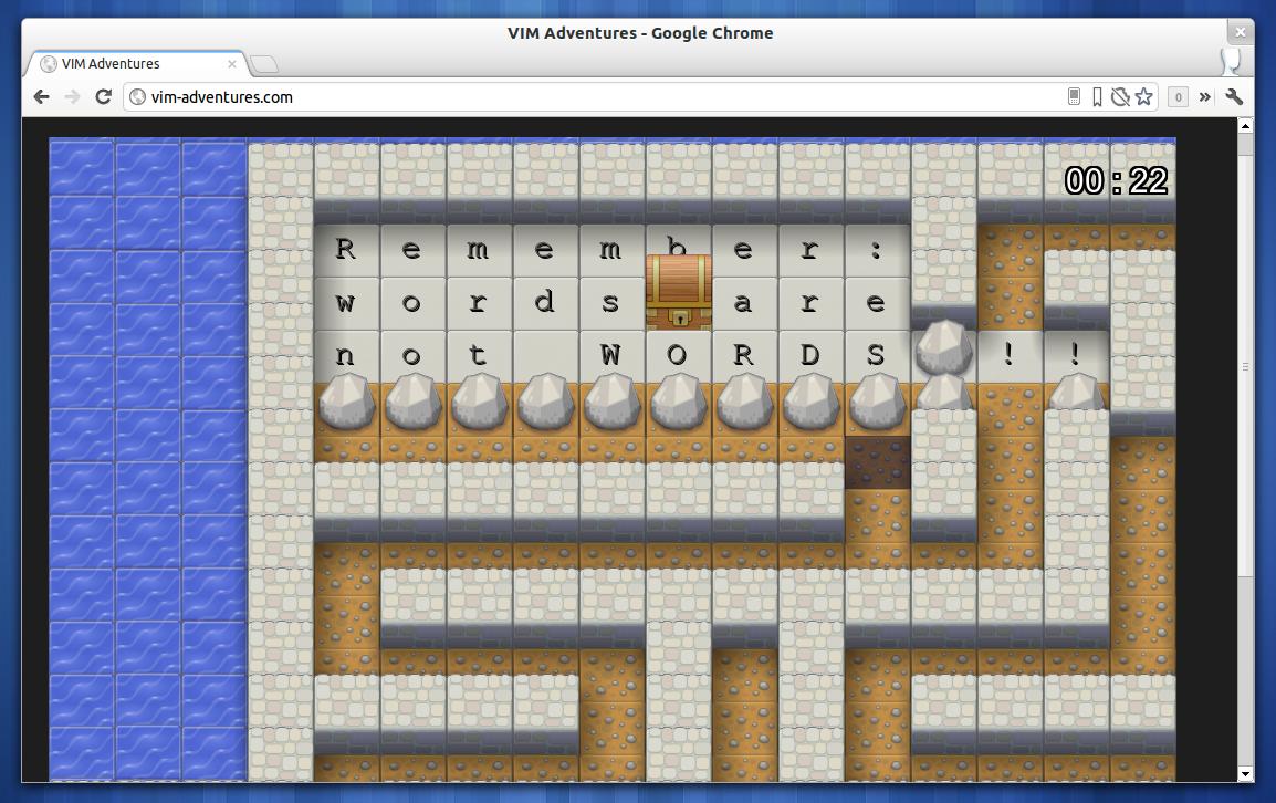 vim adventures zum spielerischen erlernen der vim tastaturk rzel linux und ich