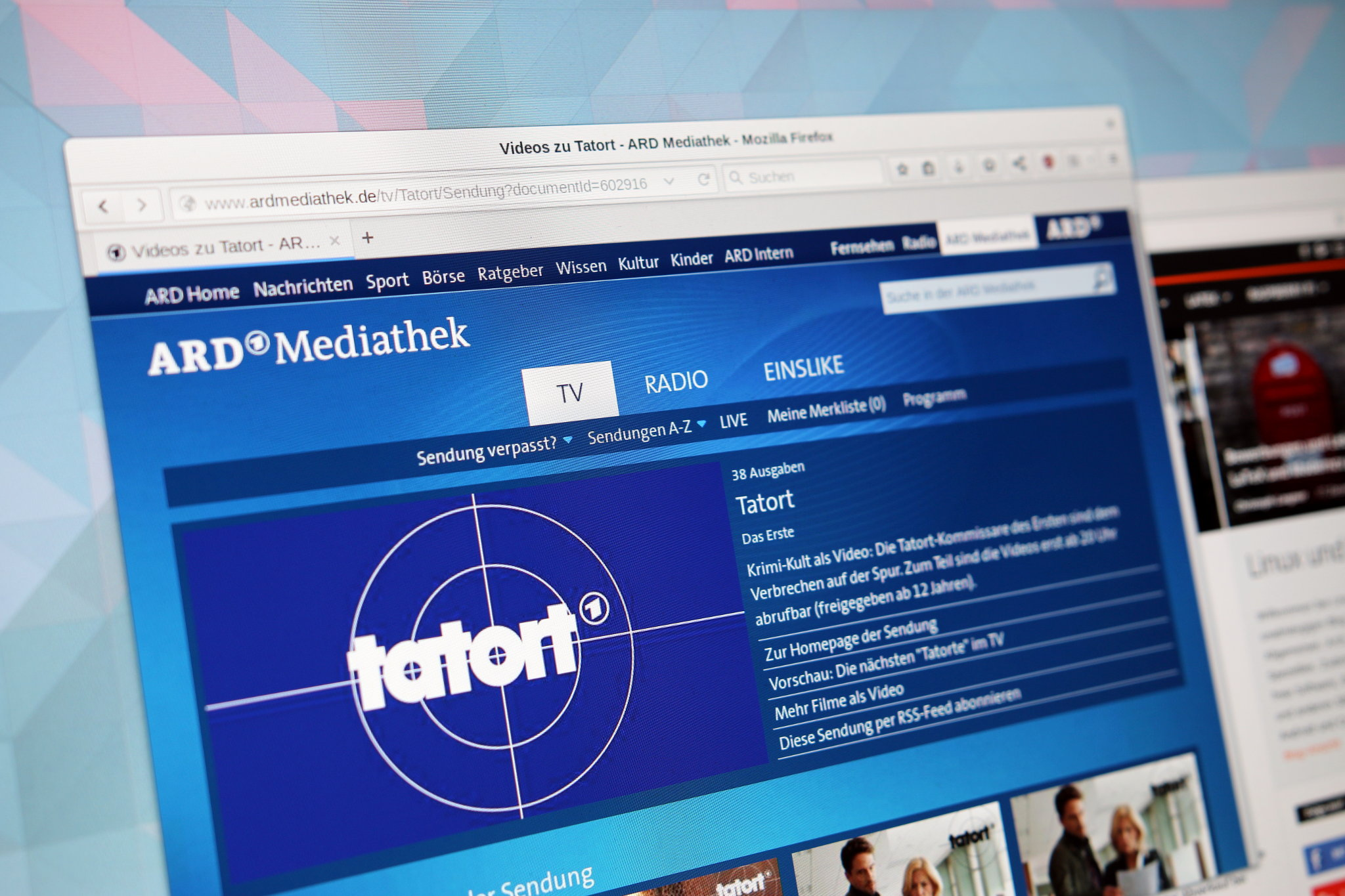 Ard-Mediathek Tatort