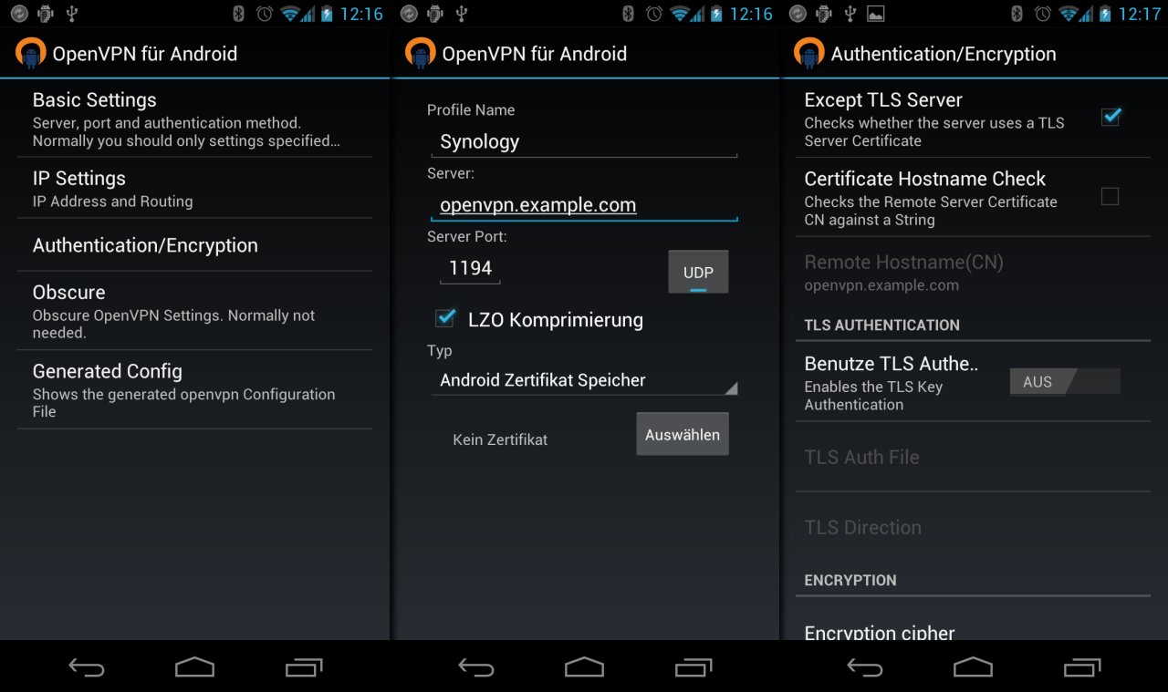 How to Configure OpenVPN on Android