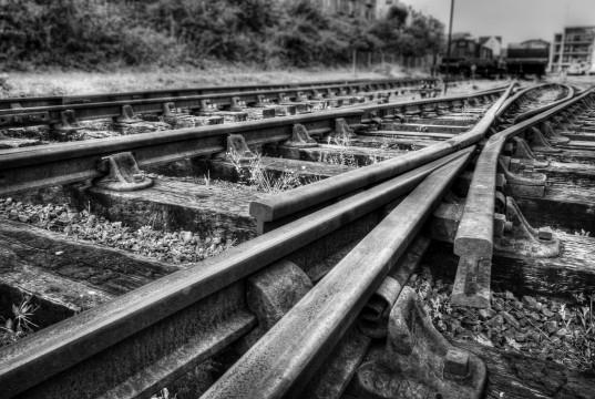 Alte Eisenbahngleise