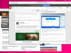 Vorschaubilder Facebook Google+