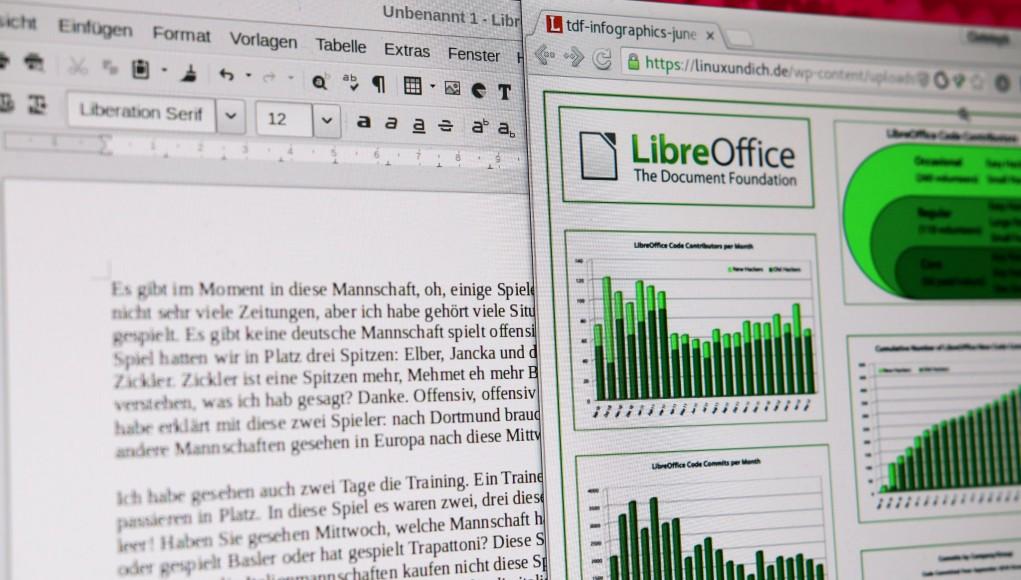 LibreOffice Infografik 2012