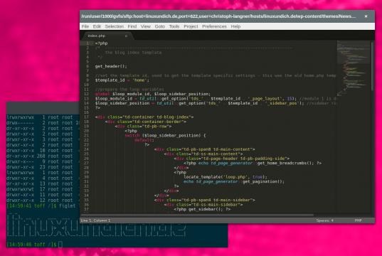 Sublime Text unter Linux