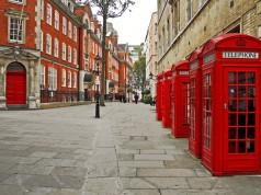 Britische Telefonhäuschen
