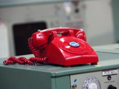Red phone at NASA