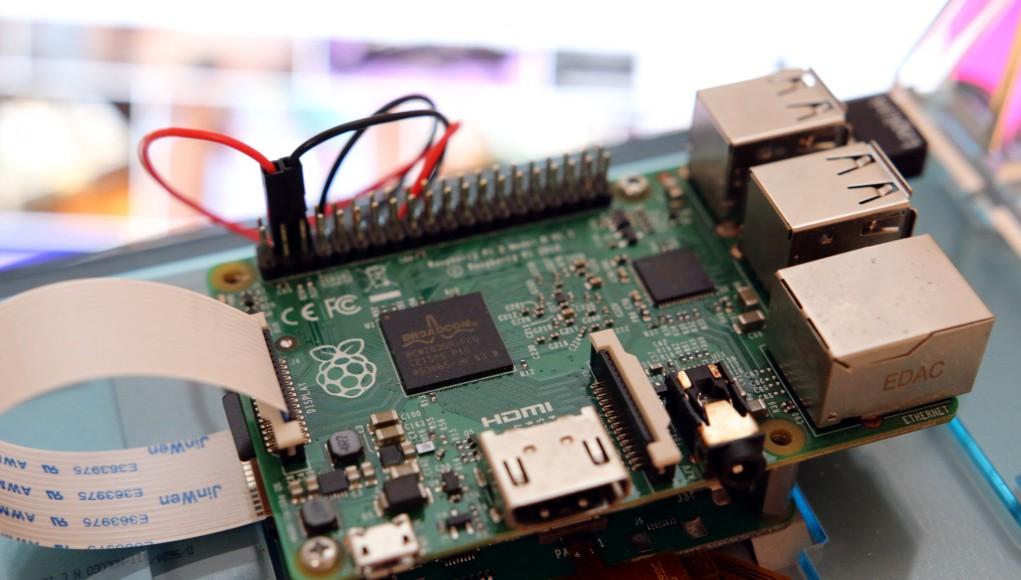 Raspberry Pi mit Display
