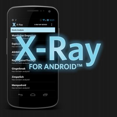 X-Ray durchleuchtet Android nach Sicherheitslücken