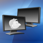 GNOME-Shell-Erweiterung auf Basis von Disper für Dual-Display-Systeme