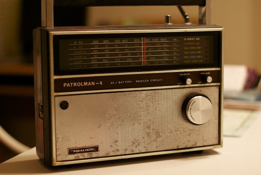 Altes Kofferradio