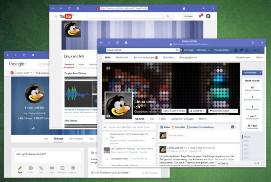 Linux und Ich in den Social Networks