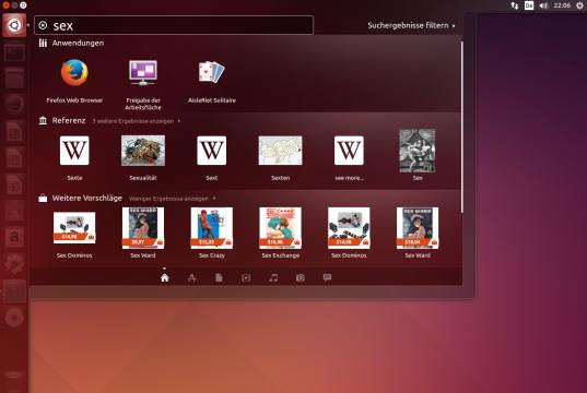 Ubuntu Shopping Lens