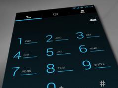 Der Dialer aus Android 4.2 versteht sich jetzt endlich mit dem Querformat