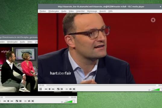 ARD Live Stream in VLC