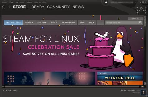 Aktuell gibt es einen Linux-Sale, zahlreiche Titel sind reduziert zu haben.