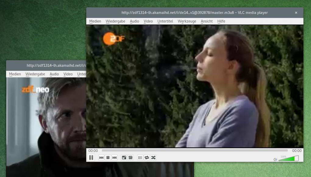 ZDF und zdf_neo in VLC