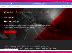 Redhat Linux Homepage