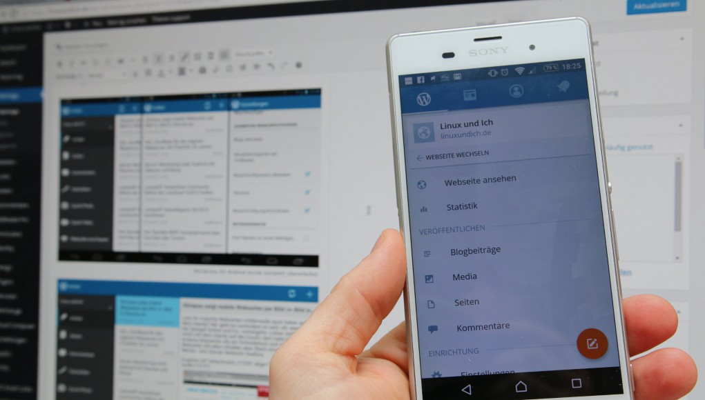 Wordpress für Android