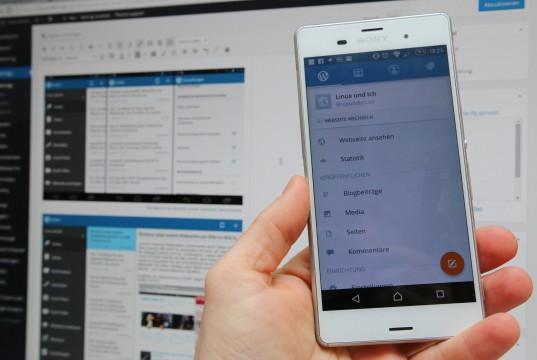 Wordpress für Android