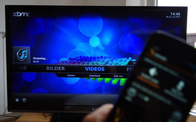 Unterstützt werden auch andere AirPlay-kompatiblen Geräte.