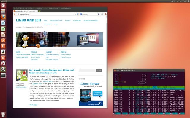 Andere Linux-Distributionen werden auf Wunsch auf dem Gerät installiert.
