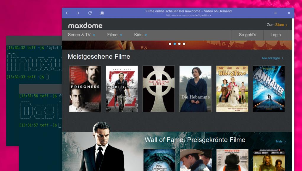 Maxdome unter Linux