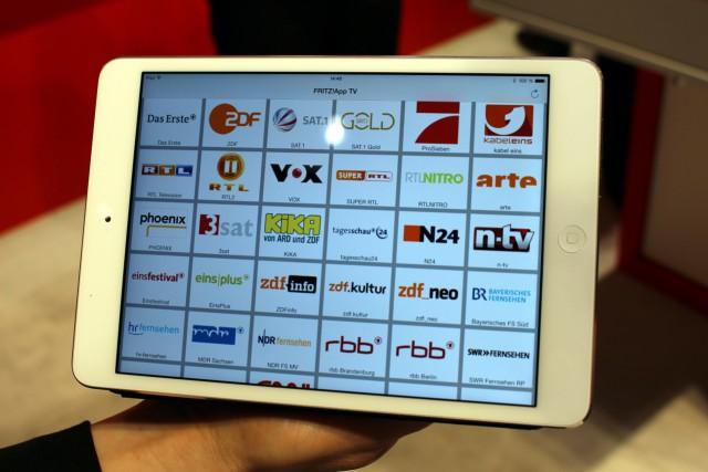 Der DVB-C-Repeater streamt alle unverschlüsselten Sender ins Netz.
