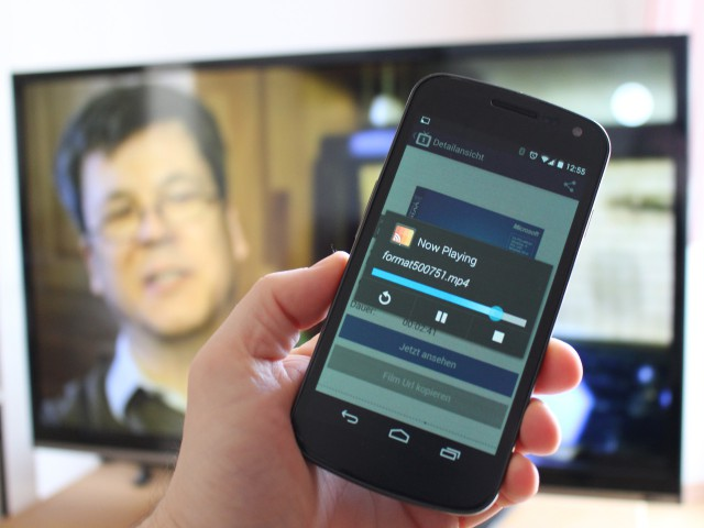 Allcast streamt so gut wie alles vom Android-Handy auf den Chromecast-Dongle.