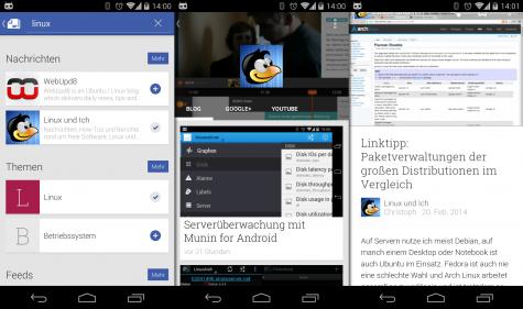 Linux und Ich bei Google Play Kiosk.