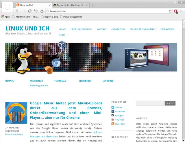Den Maxthon Browser gibt es jetzt auch offiziell für Linux.