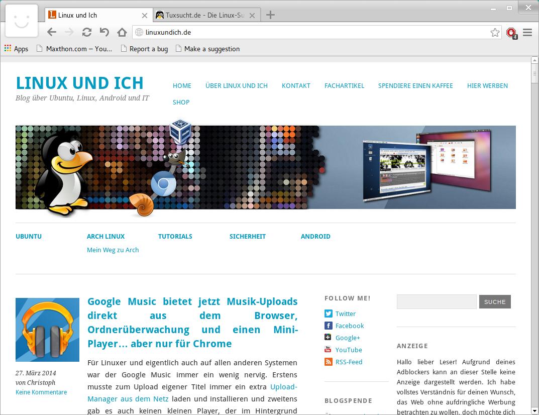 Maxthon ver ffentlicht seinen browser jetzt auch f r linux Linux browser