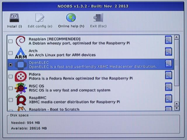 Mit Noobs lassen sich zahlreiche Linux-Distributionen im Handumdrehen auf dem Raspberry Pi installieren.