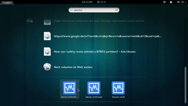 Der VirtualBox Vm Search Provider funktioniert jetzt wieder mit aktuellen GNOME-Versionen.