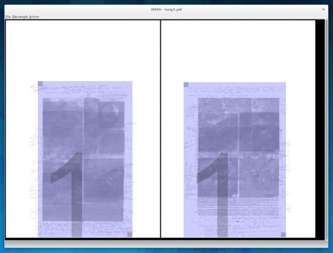 Mit Briss lassen sich PDFs auf ausgesuchte Bereiche zuschneiden.