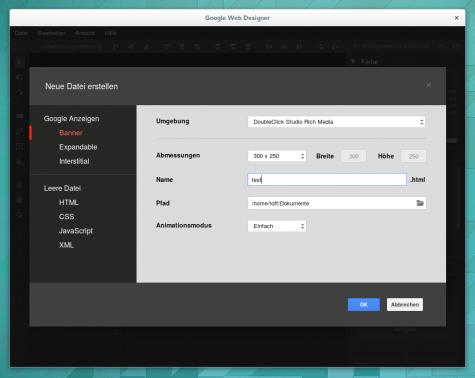 Knapp ein halbes Jahr nach der Präsentation des Google Web Designers gibt es die Anwendung nun auch für Linux.