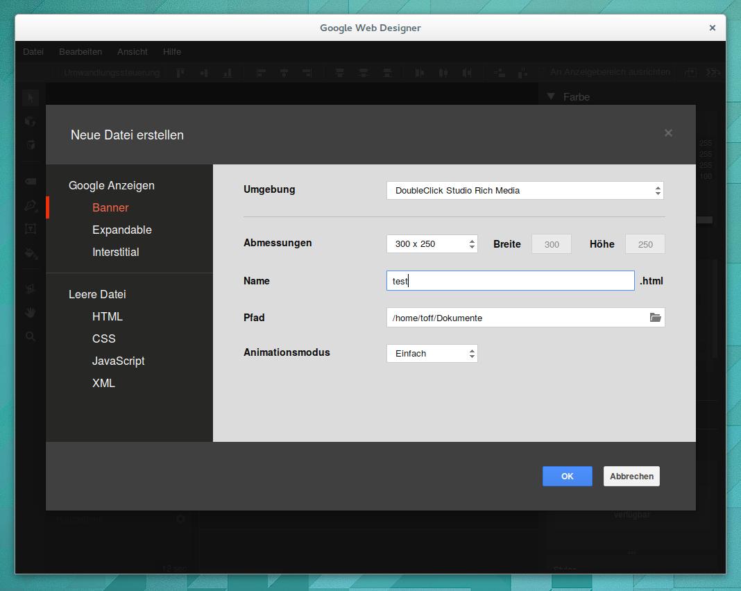 Google Web Designer Linux Download