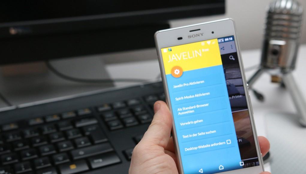 Javelin Browser für Android