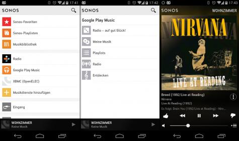 Sonos arbeitet danach endlich mit Google Music inklusive All Access zusammen.