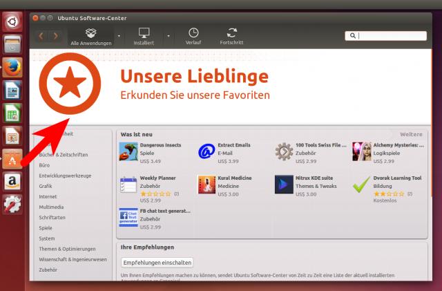 In den Paketquellen von Ubuntu findet sich so gut wie jede freie Software.