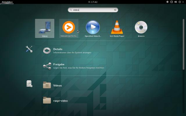 Aktuelle Desktopumgebungen zeigen Browser-Apps in der Anwendungsübersicht an.