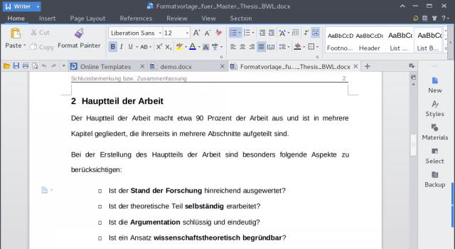 Kingsoft Office gibt es für Windows, Mac und Linux.