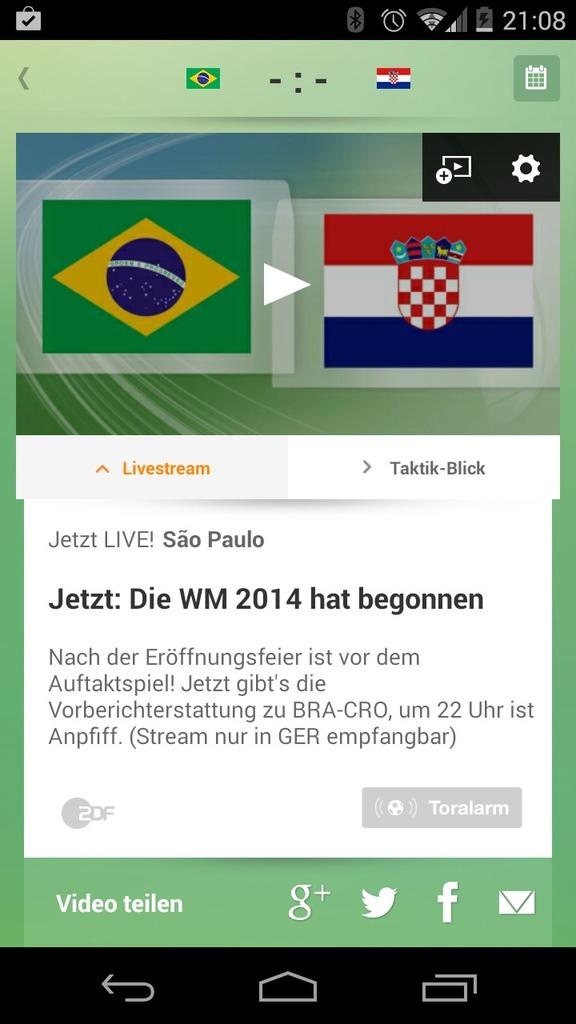 Zdf Live Stream Wm 2019